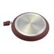 Kép 3/3 - Perfect Home Kerámia bevonatos palacsintasütő 24cm barna (indukciós) 10225