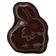 Kép 1/5 - Perfect Home Kerámia bevonatos húsvéti nyuszi sütőforma 10371