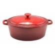 Kép 1/5 - Perfect Home Zománcozott öntöttvas kacsasütő 32cm, 6,2l piros 10568