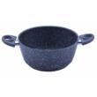 Kép 2/3 - Perfect Home Tapadásmentes bevonatos lábas fekete márványos 26 cm 12567