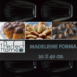 Kép 2/9 - Madeleine - medvetalp - mandula forma tapadásmentes bevonattal 12618