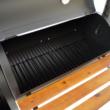 Kép 3/5 - Perfect Home Grillező - grillkocsi füstölővel és asztallal 13088