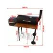 Kép 5/5 - Perfect Home Grillező - grillkocsi füstölővel és asztallal 13088