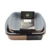 Kép 2/10 - Perfect Home Granite Line Tepsi tapadásmentes bevonattal 36x25 cm 13924