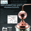Kép 2/4 - Perfect Home Deflegmátor szett réz 17 cm 14316