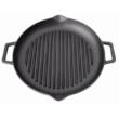 Kép 3/3 - Perfect Home Öntöttvas grill lap kerek csőrös 15502