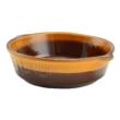 Kép 1/5 - Perfect Home Agyag római sütőtál kerek mázas 1 literes 15510