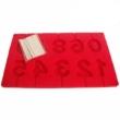 Kép 1/3 - Perfect Home Szilikon csoki nyalóka forma szám 3D 28373
