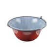 Kép 2/2 - Perfect Home Zománcozott gulyás bogrács 22 liter piros/cirmos 33001