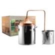 Kép 1/2 - Perfect Home Pálinkafőző 50 literes réz inox ECO 50001