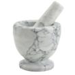 Kép 1/5 - Perfect Home Mozsár + törő márvány 10 cm 72216