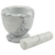 Kép 4/5 - Perfect Home Mozsár + törő márvány 10 cm 72216