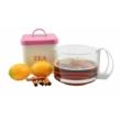 Kép 1/2 - Perfect Home Üveg kávé-tea kiöntő 80006