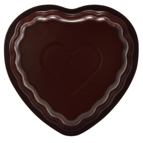 Perfect Home Kerámia bevonatos szív sütőforma 10366