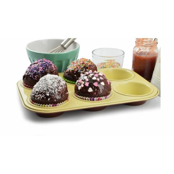 Perfect Home Kerámia bevonatos muffinsütő 6 db-os 11836