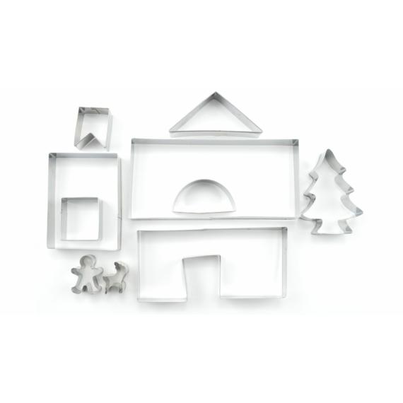 Perfect Home Mézeskalács ház kiszúró készlet 10 db 12406
