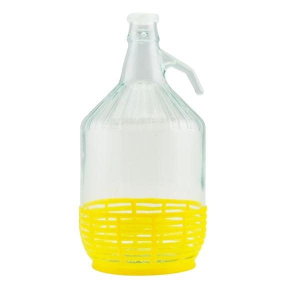 Demizson műanyag kupakkal 5l 12622