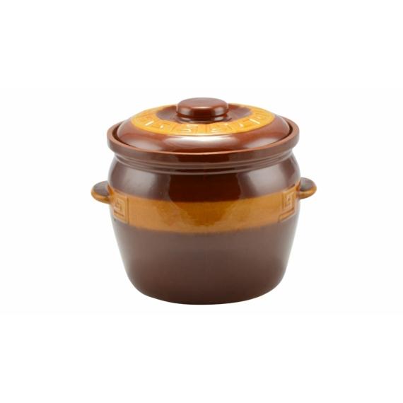 Perfect Home Agyag káposztás fazék mázas 6.5 literes 12664