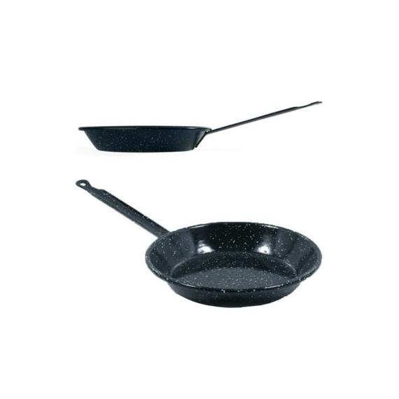 Paella nyeles tál zománcozott 22 cm 13362