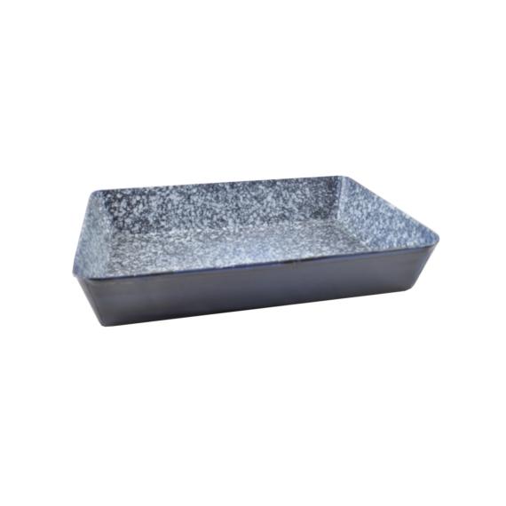 Zománcozott sütőtepsi 35x26 cm 14284