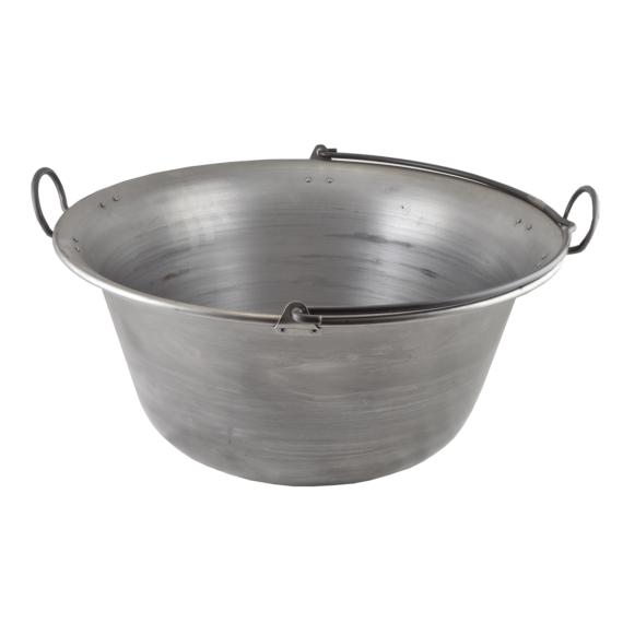 Vas bogrács 40 liter 14342