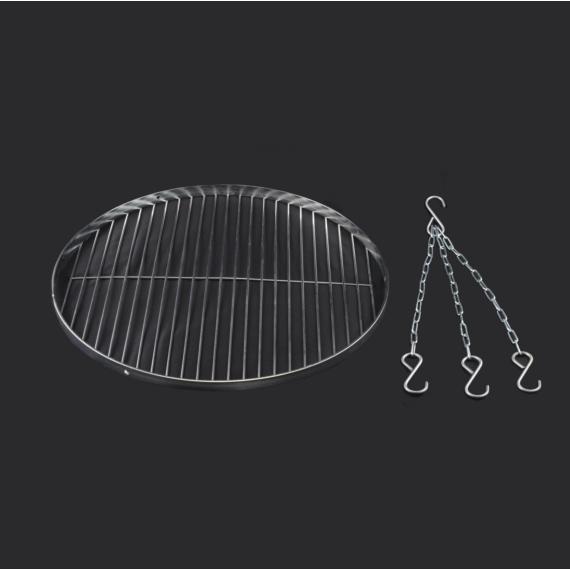 Grillrács + lánc 50cm 14552