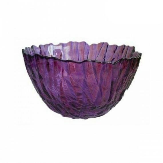 Walther Glass Crafts lila üvegtál 16207