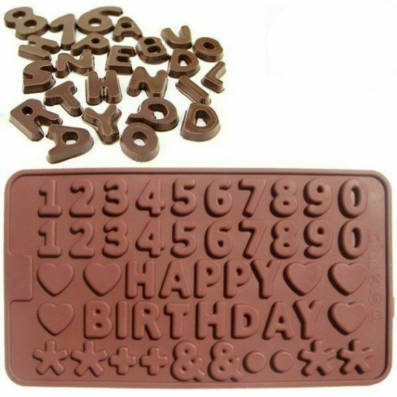 Perfect Home Csokiforma számok, betűk 28232
