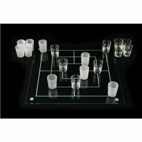 Perfect Home Malom ivós játék üveg játéktáblával + 18 db pohárral 28334