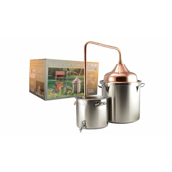 Perfect Home Pálinkafőző 50 literes réz inox 48040
