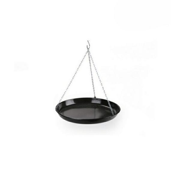 Perfect Home Flekkensütő 42 cm zománcozott, fekete 71118