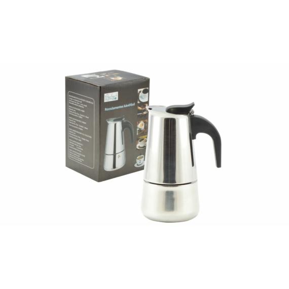 Perfect Home Rozsdamentes kávéfőző 2 személyes díszdobozos 72003