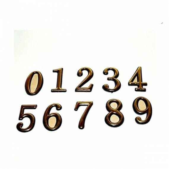 Perfect Home Házszám matrica 72238
